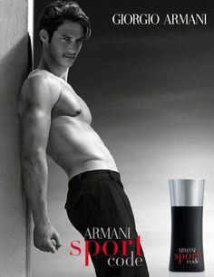 Domenique Melchior for Armani Sport Code Fragrance Campaign - Parfumerie et parapharmacie - Parfumeries - Giorgio Armani