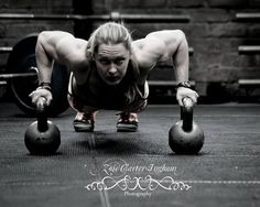 crossfitters:  The Queen. Samantha Briggs