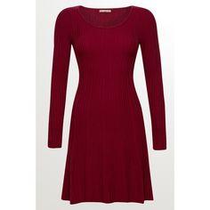 ORSAY Strickkleid mit Struktur Rot Damen Kleider Für Jeden Anlass, Schöne  Kleider, Mode Für f81d949fbb