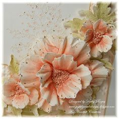 Happy Wednesday! Today I have another creation for you using the Blazing Poppy Collection! I used Aged Ivory Embossing Enamel on N...