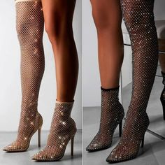 Black or Nude? Embellished Heels, Shoe Company, Shoe Game, Shoes Online, Night Out, Stiletto Heels, Stockings, Glamour, Nude