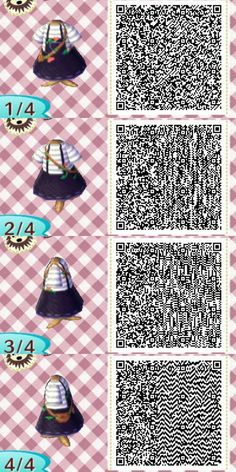 #ACNL #Image #QR #result #summer Image result for summer acnl qr        Image re...,  #ACNL #animalcrossingnewhorizonsqrcodepink #Image #result #summer Animal Crossing 3ds, Animal Crossing Qr Codes Clothes, Amazing Animals, Cute Animals, Animal Sketches, Animal Drawings, Tumblr, Acnl Paths, Motif Acnl