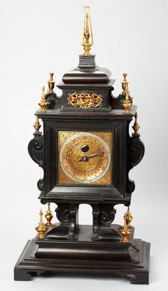1571 Renaissance Table Clock From Nuremberg.