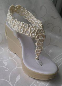 Bohemian Wedding Sandals Rope Sandals Handmade Sandals