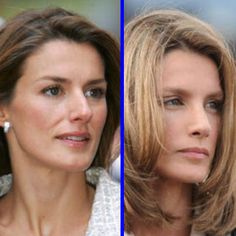 Este es el antes y después de la Princesa Leticia