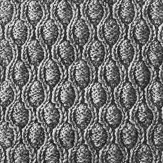 Knitting Pattern Square No. 20, Volume 34 | Free Patterns | Yarn