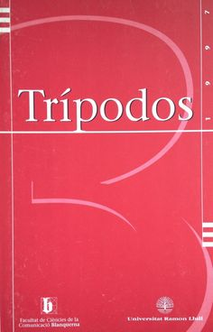 Revista Trípodos, 3, Facultat de Comunicació Blanquerna, Universitat Ramon Llull, 1997
