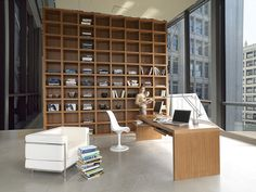 """Mazzali: """"Krea"""" bookcase / libreria """"Krea"""". Living and office area - Shared on my site: http://stunninghomedecor.com/2015/11/17/mazzali-krea-bookcase-libreria-krea-living-and-office-area-2/"""