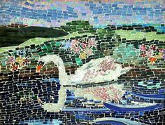 Swan Reflection by josclassnglass on Etsy, $150.00
