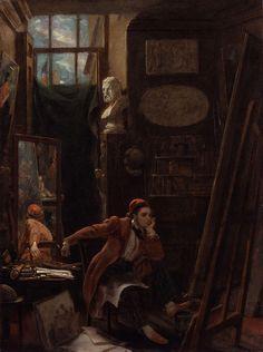 fleurdulys:  James Sant - James Sant 1844