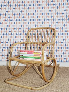 1000 images about chaise enfant on pinterest vintage school bureaus and v - Chaise a bascule blanche ...