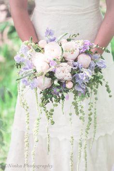 A summery wedding bouquet. Photo by Nina/Ninka Photography