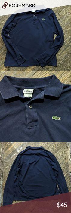 775f5e52 Lacoste Long Sleeve Golf Polo Shirt 4 Lacoste Long Sleeve Golf Polo Shirt 4  Size 4