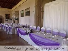 wedding receptions with only table decorations - Google Search