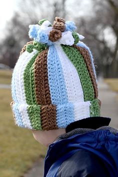 Boy Curly Corkscrew Hat (All sizes available)