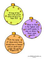 Bible Verse Printables for Kids | Christmas Educational Ideas ...