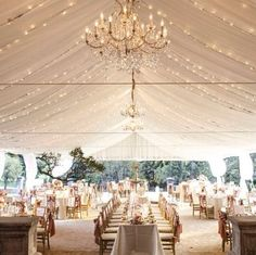 Wedding Decorations - [tps_header] If you are hoping to have an outdoor reception that is also protected in case of bad weather, a wedding tent can make your vision come to life and guarantee a flawless occasion. Tents provide you with cou. Wedding Themes, Wedding Events, Wedding Styles, Wedding Receptions, Wedding Colors, Wedding Locations, Wedding Theme Ideas Unique, Classy Wedding Ideas, Romantic Ideas