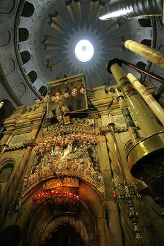 I want to got there, I love churches. Church of the Holy Sepulcher Jerusalem