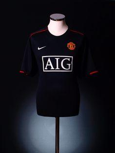 de248f3e10a United away kit 2007 Manchester United Shirt