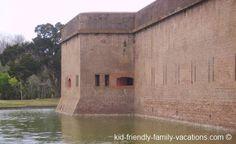 Savannah Georgia Vacations - Fort Pulaski National Monument near Savannah Georgia