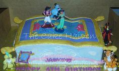 Aladdin/Magic Carpet Cake by The Cake Haiven, via Flickr