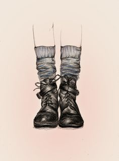 These Shoes by Peony Yip, via Behance