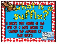 Classroom Freebies Too: Free Mini -Prefix and Suffix Posters (Available in Several Themes!)