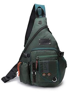Reliable Military Tactical Nylon Chest Bag Camping Men Equipment Outdoors Wading Chest Pack Cross Body Sling Single Shoulder Bags 50% OFF Climbing Bags