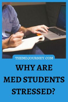 Stress in medical school? Here's how to deal with the biggest stressor in medical school. Learn how to destress if you stop doing this one thing! Student Stress, Med Student, Student Studying, Learn English, English English, English Grammar, Learn French, French Lessons, Spanish Lessons