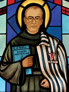 Icons of Mercy: Paying the ultimate price for mercy. St. Maximilian Kolbe, Pray for us