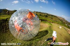 Zorbing in Durban with Groovyballs Adventure Park. GroovyBalls Adventure Park is the only zorbing park in KZN,  also offering other activities, including hamster balls, off-road go-karting, paintball, target shooting and more. Choice of runs: Kamikaze – 150 m straight downhill for those with a need for speed; Twister – 120 m with twists and turns, a real wet 'n wild ride; and Tornado –  120 m mixture of the two. Ride in a strapless... #dirtyboots #zorbing #durba