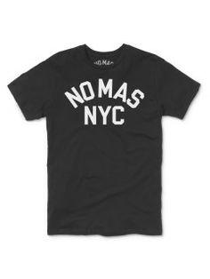 NO MAS NYC