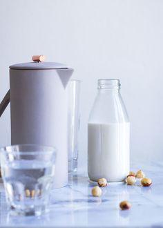Cold Brewed Coffee mit Haselnussmilch I nom-nom.ch