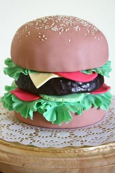 Burger Cake from Ritz Passion