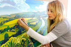 Anna Dillon OAS | Oxfordshire Artweeks