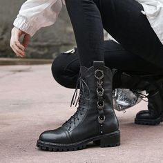 7086f66e1b6fe2 Chiko Chadd Combat Ankle Boots