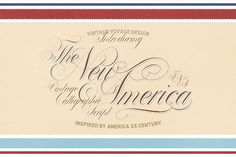The New America by Vintage Voyage Design Co. on @creativemarket