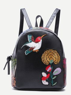 KUWT Vintage African Women PU Leather Backpack Photo Custom Shoulder Bag School College Book Bag Casual Daypacks Diaper Bag for Women and Girl