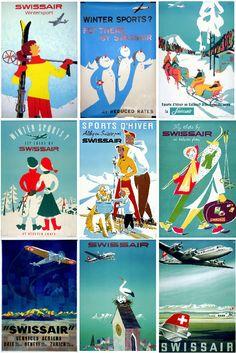 Swissair Art