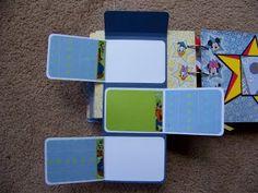 Disney Mini scrapbook album, interactive page (3)