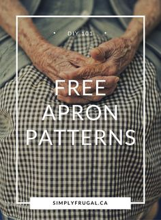 Vintage Sewing Patterns Free Apron Patterns Check out this huge list of Free Apron Patterns! It's got links to tutorials for full aprons, half aprons and kid - This list of free and easy apron patterns is fantastic! Easy Apron Pattern, Retro Apron Patterns, Vintage Apron Pattern, Apron Tutorial, Aprons Vintage, Vintage Sewing Patterns, Clothes Patterns, Simple Sewing Patterns, Dress Patterns