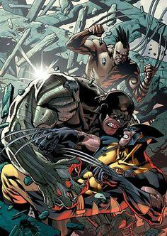 Cyber vs Daken - Wolverine