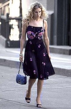 S in Fashion Avenue: Fashion icons: Carrie Bradshaw