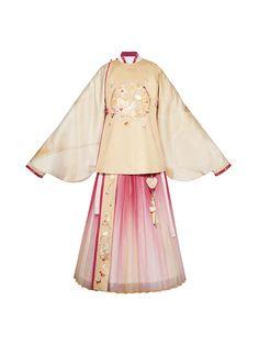 Chinese Style, Chinese Fashion, Creative Costumes, Beautiful Costumes, Hanfu, Bell Sleeve Top, Asian, China Clothing, Shirts
