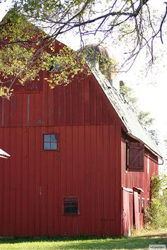 The Big Red Barn in Portage, Indiana.