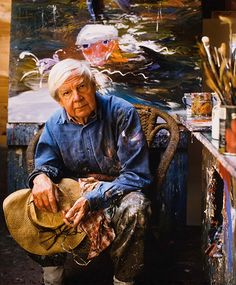 "Arthur Boyd, painter ""par-excellence"", just one of the mindbogglingly talented Boyd dynasty. Australia, you are not worthy"