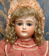 """Perfect Rare 19.5"""" Kestner Doll XII Closed Mouth Antique German Bebe Child"""