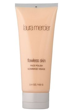 Laura Mercier 'Flawless Skin' Face Polish   Face Polish is a creamy scrub that cleanses and exfoliates. It helps remove dead skin cells thanks to purifying microbeads, while emollients soften skin.