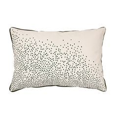 Rainy Dot Cushion Cover 40x60 cm, Pesto £22. - RoyalDesign.co.uk