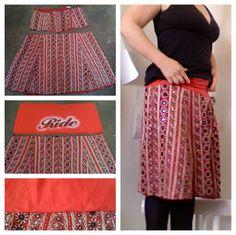 JoziKaroo: Tuesday Tutorial: Add a soft yoga waistband to an old skirt